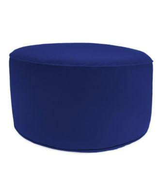 Awe Inspiring Jordan Manufacturing Round High Outdoor Pouf 1 Pack Blue Squirreltailoven Fun Painted Chair Ideas Images Squirreltailovenorg