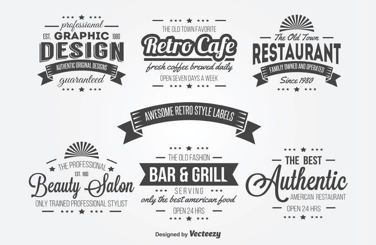 15 free vintage logo badge template collections products i love
