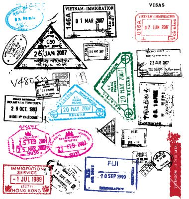 Free passport stamps vector by robot on vectorstock free free passport stamps vector by robot on vectorstock stopboris Image collections