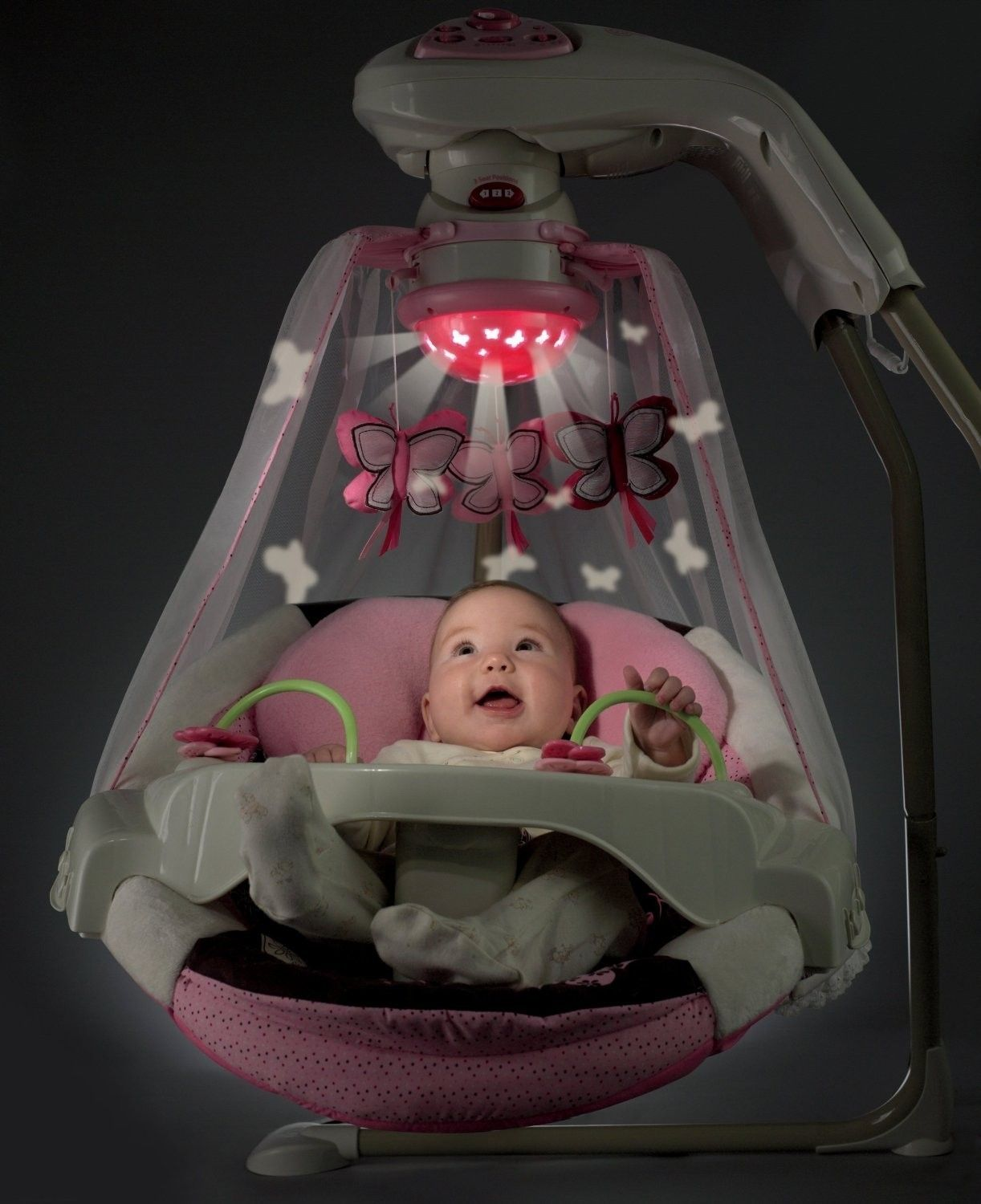 Baby Swing Would Be Stimulating Because It Helps Calm They And Entertains Them An