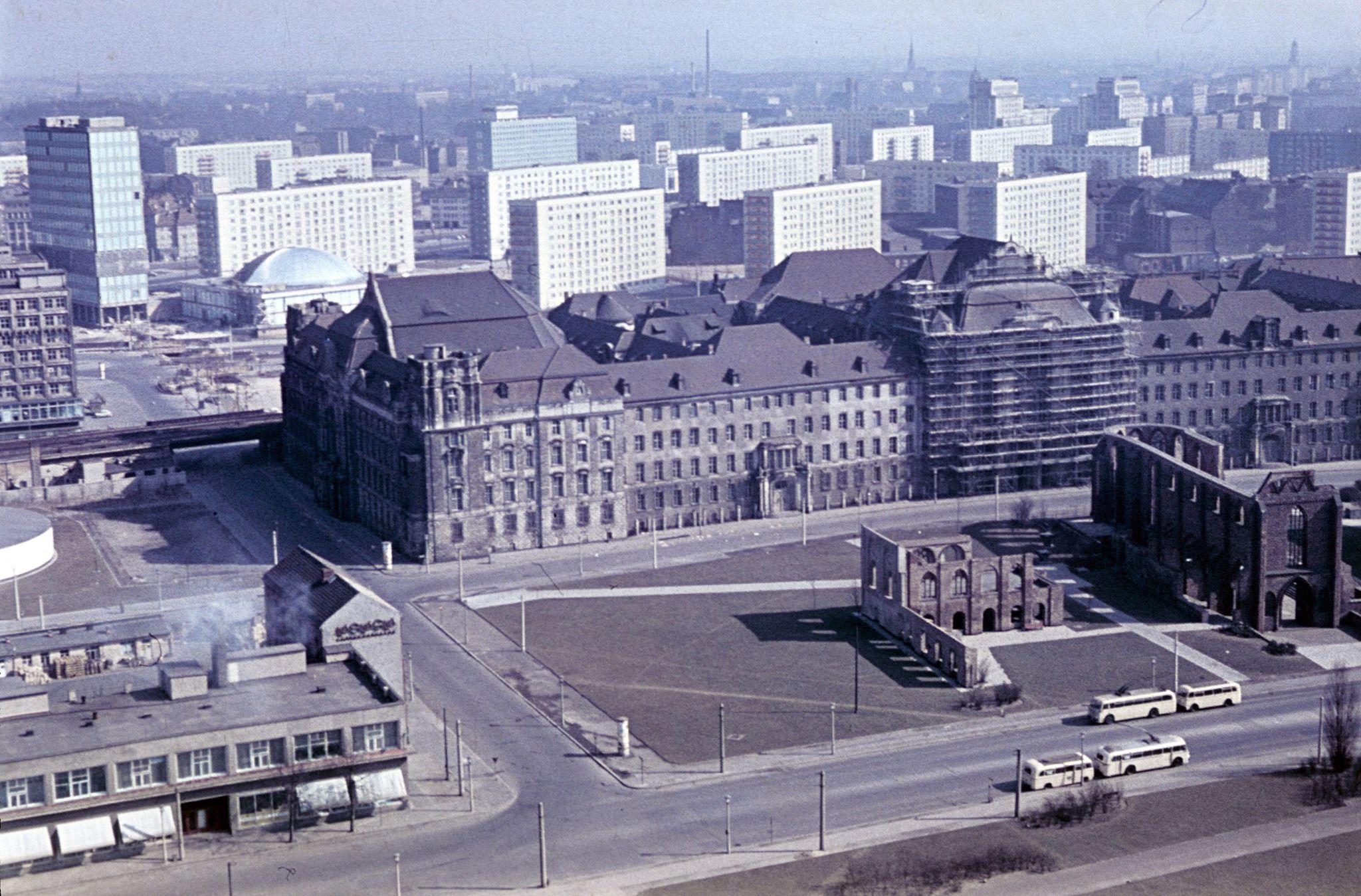 1964 Blick Vom Roten Rathaus Vollstandiges Amtsgericht Mitte 15 3 1964 Rolf Goetze Berlin Geschichte Rathaus Berlin