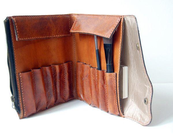 Cognac Leather Case