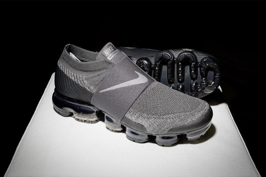more photos 0f615 e8dd0 Preview  Nike Air VaporMax Laceless  Grey  - EU Kicks  Sneaker Magazine