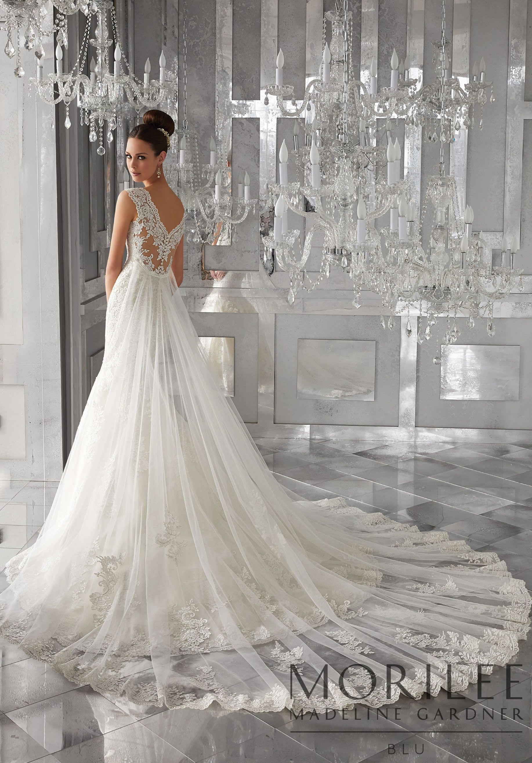 Mori lee madeline gardner wedding dress  Morilee  Madeline Gardner Monet Bridal Gown This Net Fit and