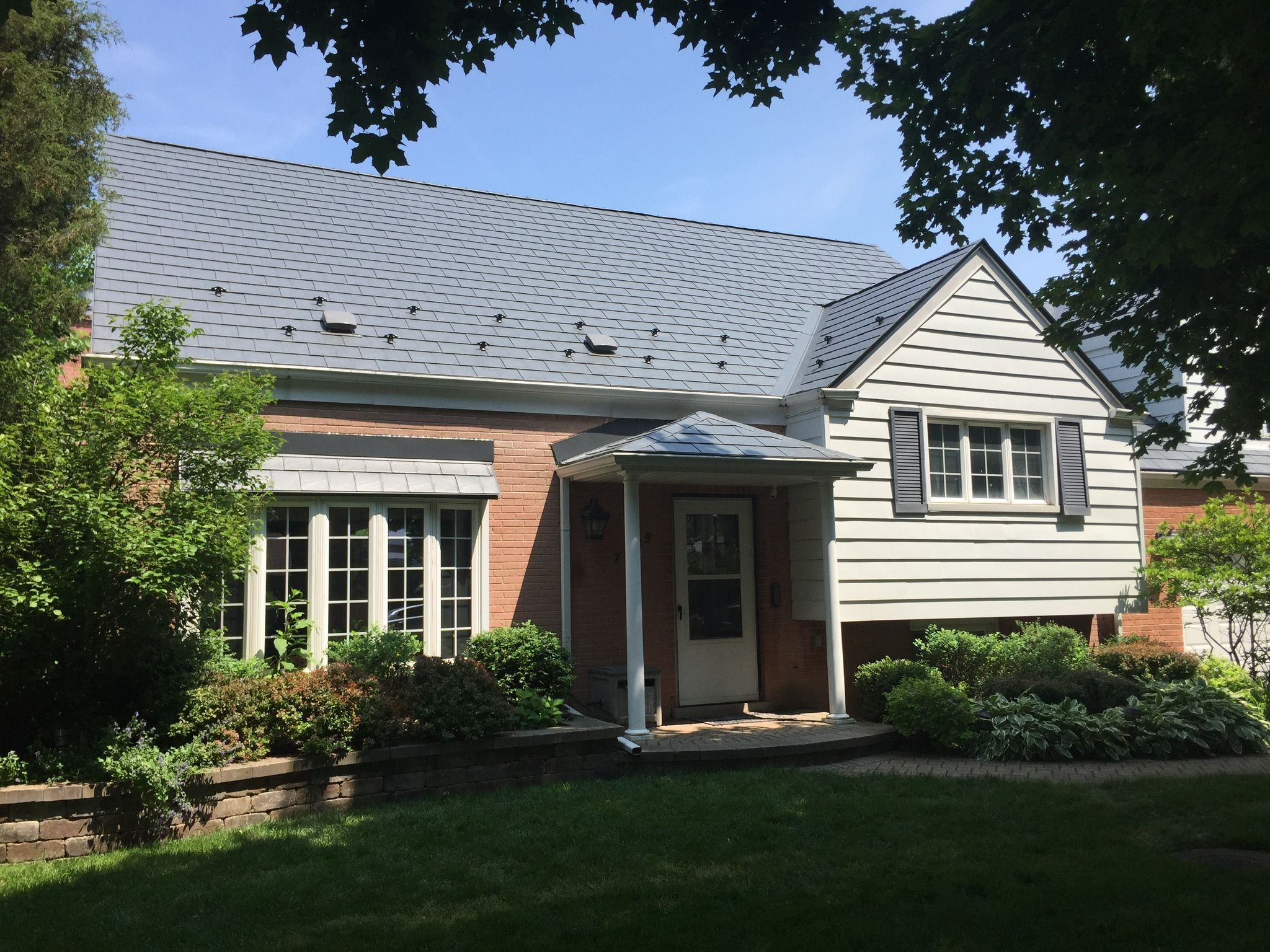 Slate Roofing Metal Roof Dream House Exterior House Roof
