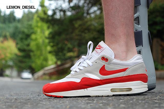Nike Air Max 1 QS OG Blue (by msgt16) | mens fashion in