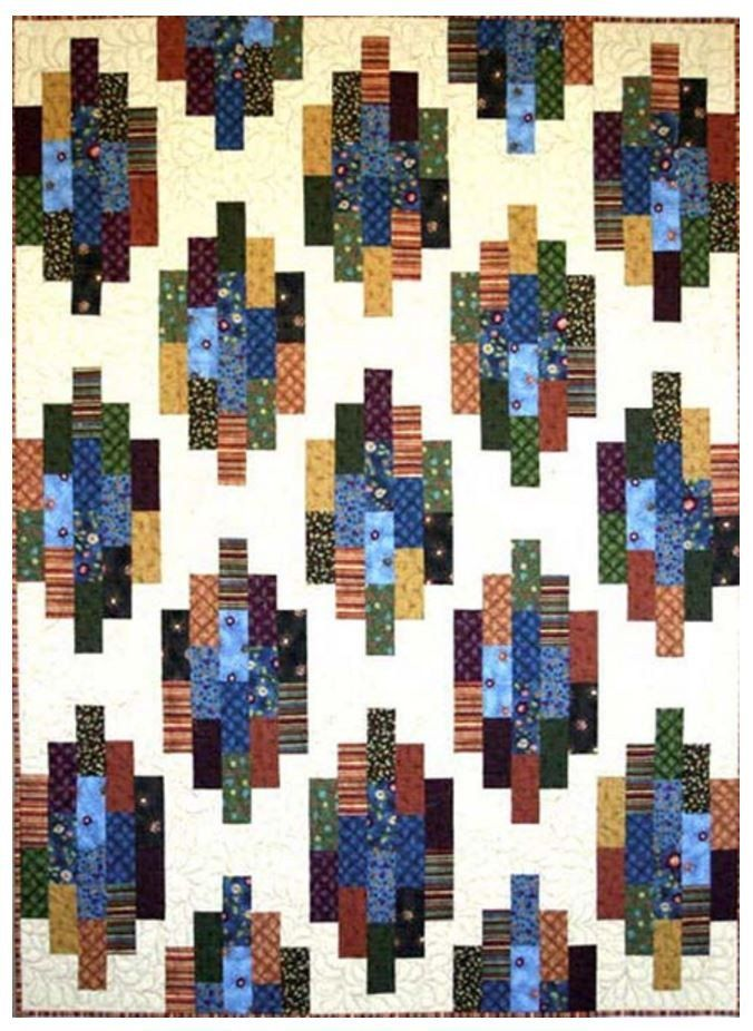 Quilt Pattern - GE Designs - Strip Stacks | Dragon roll, Dragons ... : dragon fabric for quilting - Adamdwight.com