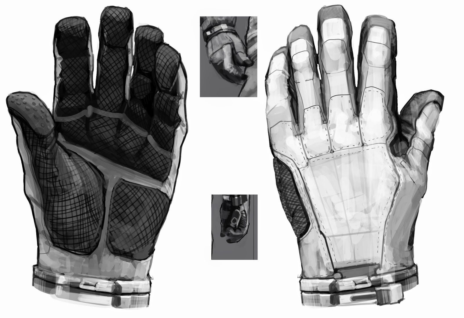 space suit glove hardware - photo #16
