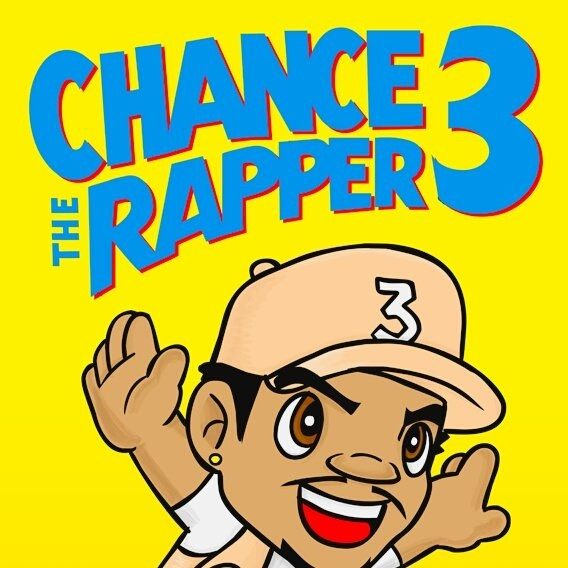 Chance The Rapper Chance 3 Coloring Book 568x568 Freshalbumart Chance The Rapper Wallpaper Chance The Rapper Rapper Art