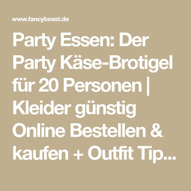 Party Essen: Der Party Käse-Brotigel für 20 Personen ...