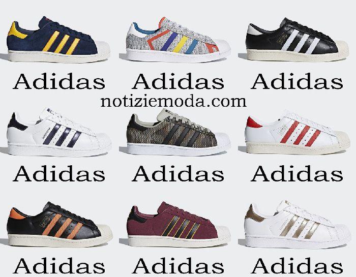 new style 2a9ad 0c443 Adidas Superstar 2018 scarpe sneakers uomo Originals ...