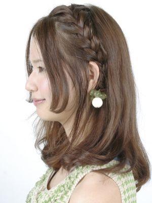 髪が短めでも大丈夫 編み込みで簡単にイメチェンできちゃいます