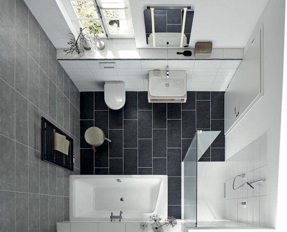 Bodengleiche duschpl tze und badewannen f r kleine for Badezimmer ideen 10m2