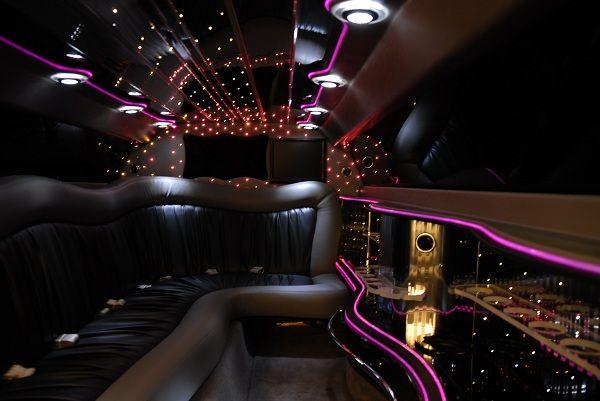 Inside Of A Limousine Wow ليموزين استرتش لينكولين 12 مترللايجار Image