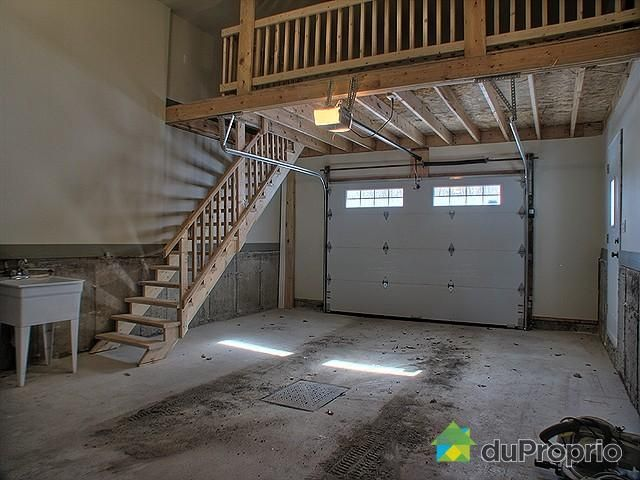 In garage for Garage mezzanine ideas