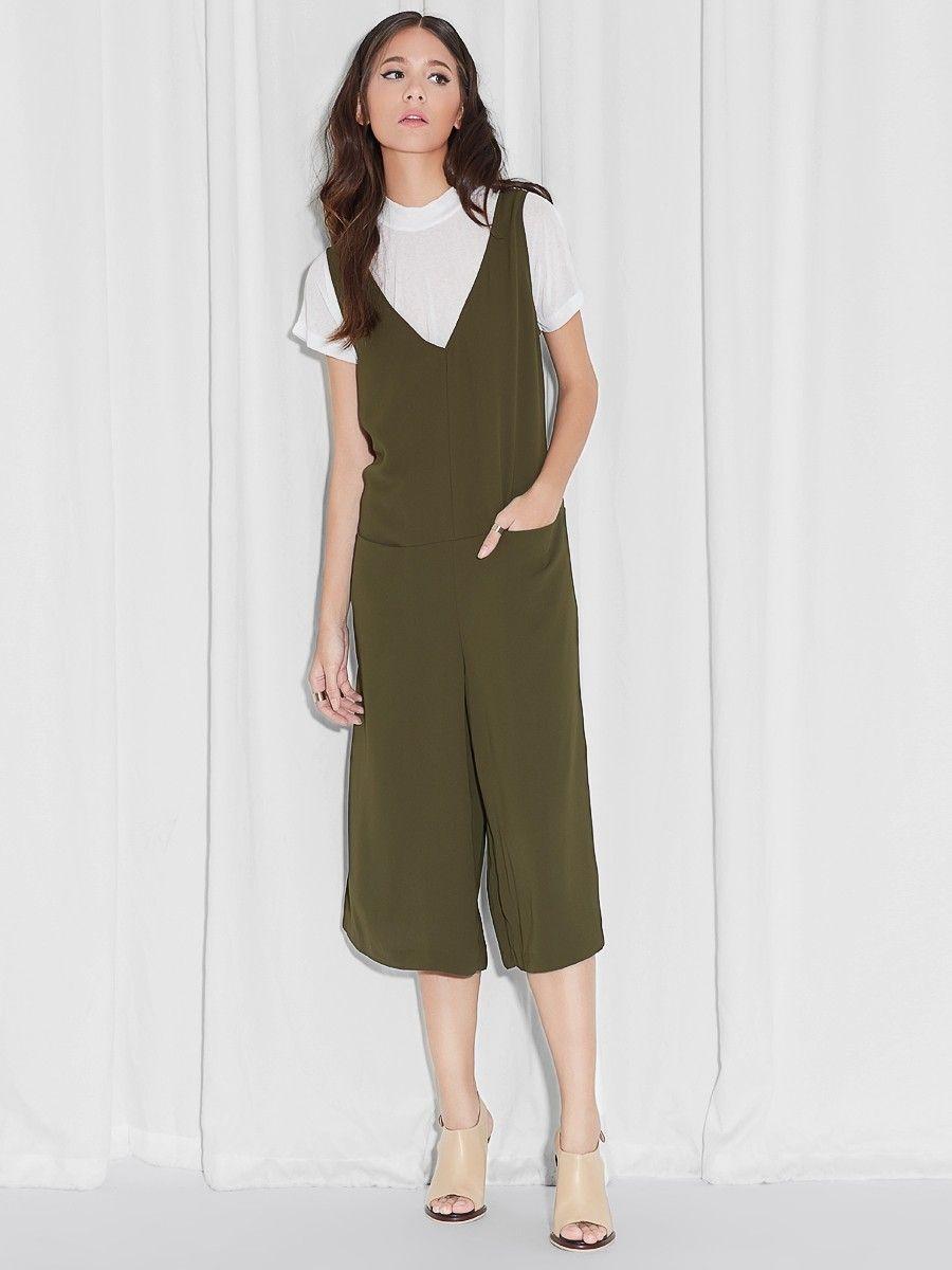 a908849dba Castor Olive Jumpsuit - Pomelo