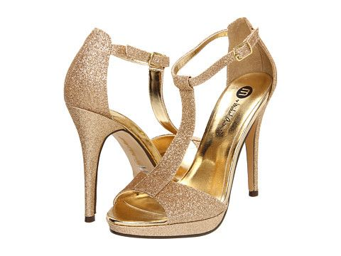 Michael antonio tipton gold glitter, Shoes