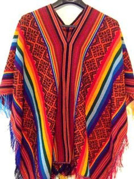 d585f3ab5d78 Peruvian Wool Poncho