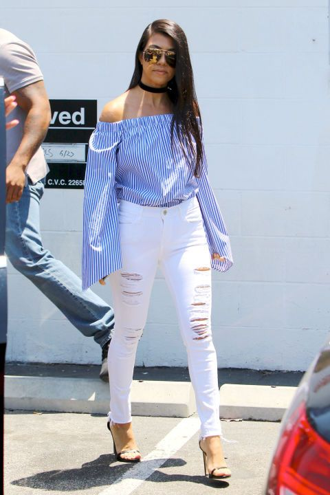 TheList: Your Guide to White Denim   White denim and Kourtney ...