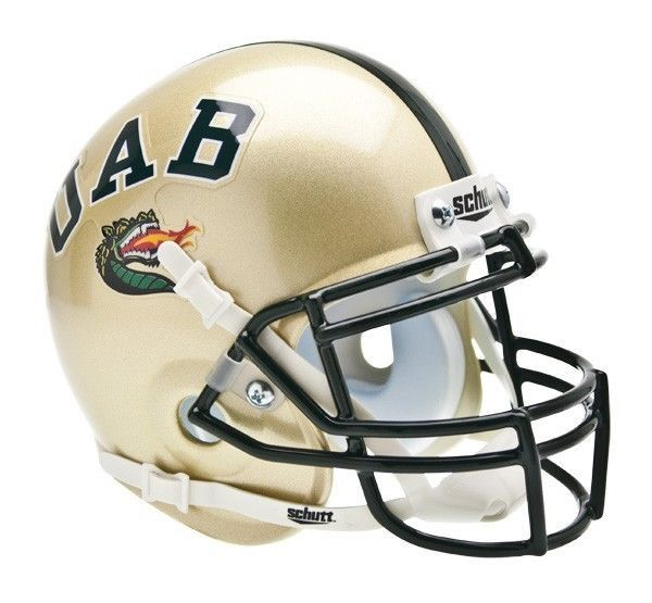 10da4c6bc05 Alabama-Birmingham (UAB) Blazers Schutt XP Mini Helmet   College ...