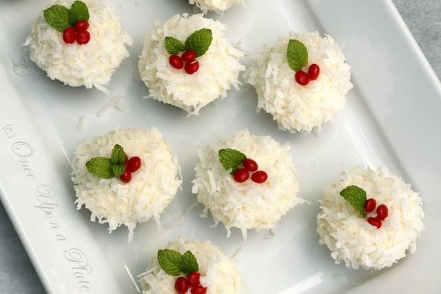 coconut holiday cookies