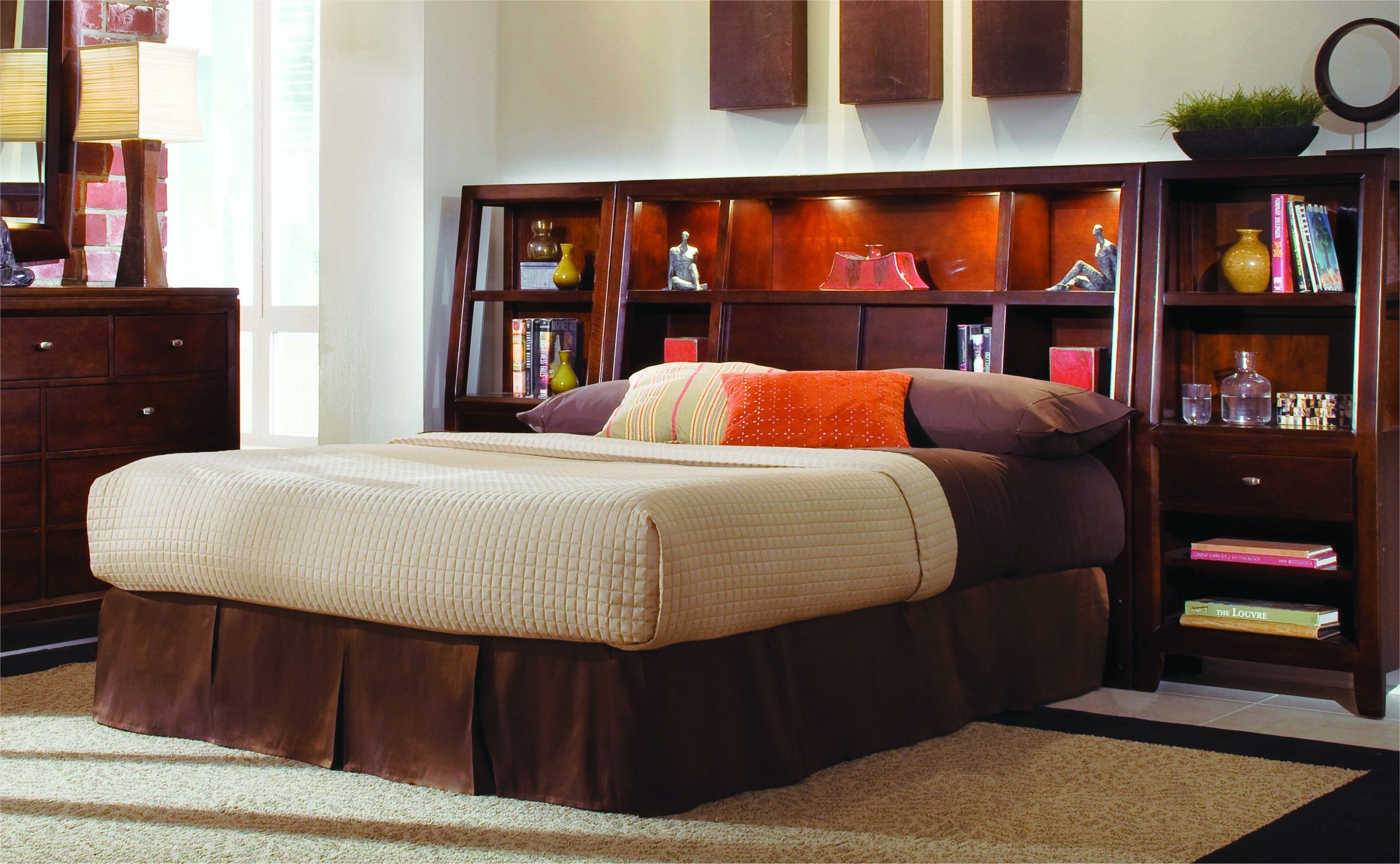 Bookcase Bed Complete King Bookcase Bed Home Decor Headboard