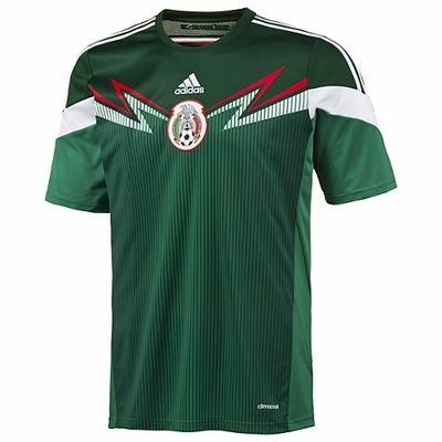 206e1d5fb8918 adidas Mexico 2014 World Cup Home Jersey