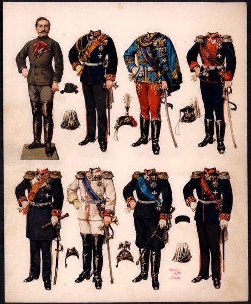 Kaiser Wilhelm Paper Dolls