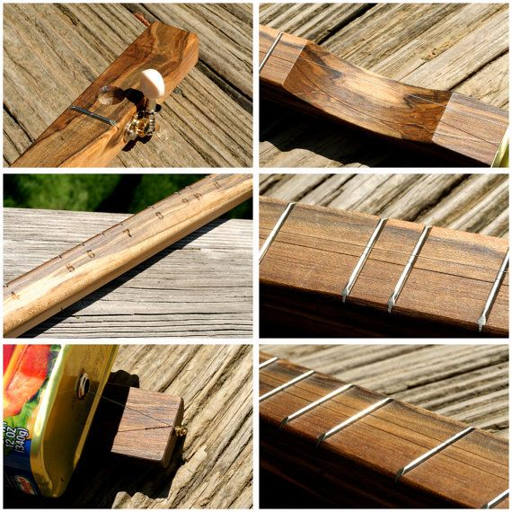 how to make one string canjo