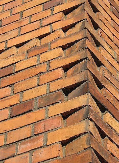 Brick Blog Brick Angled Corner Details Brick Detail Brick Masonry Brick Architecture