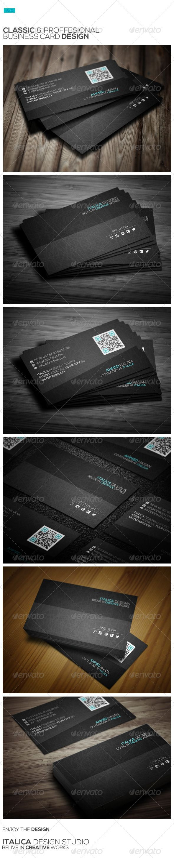 Pin by awesome graphic design on business card templates pinterest buy classic business card design by italicstudio on graphicriver classic business card design a modern business card design for you reheart Images