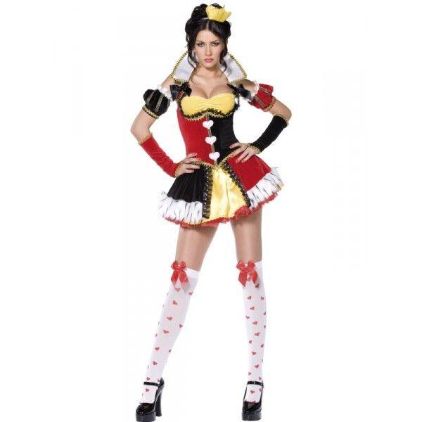 Reina de corazones vestuario Pinterest Reina de corazones - imagenes de disfraces de halloween