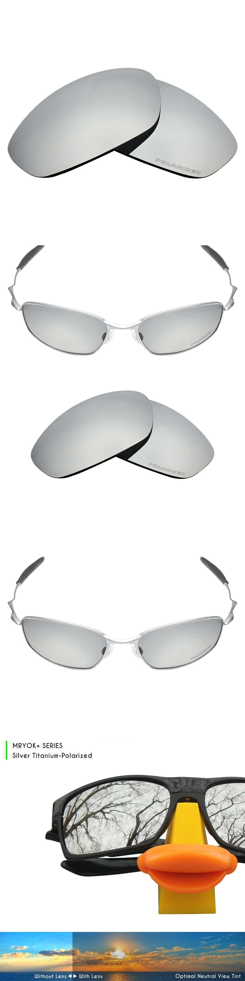 Mryok+ POLARIZED Resist SeaWater Replacement Lenses for Oakley Whisker  Sunglasses Bronze Brown ad8bd41e515e