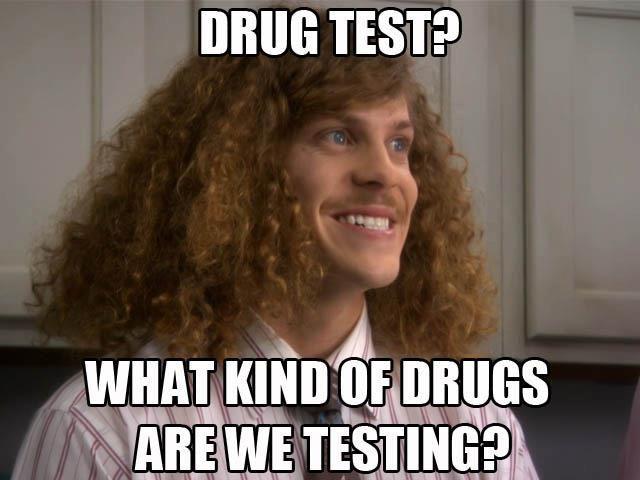 #drugtest