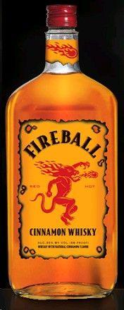 Fireball Cinnamon Whisky 50ml Cinnamon Whiskey Fireball Whiskey