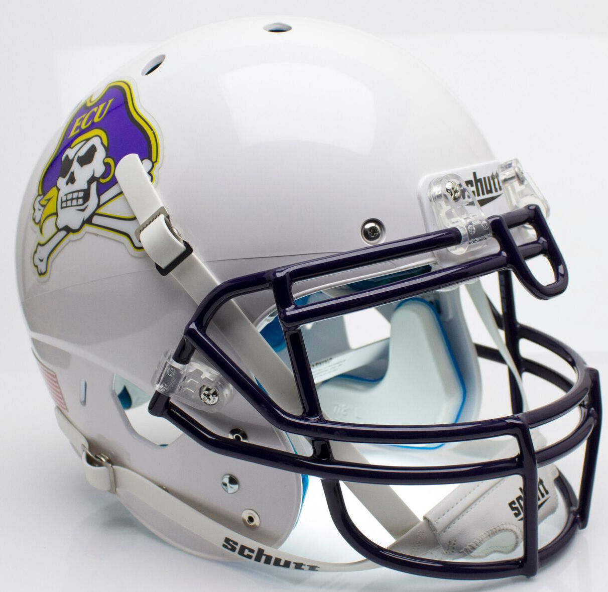 EAST CAROLINA PIRATES NCAA Schutt XP Authentic MINI Football Helmet ECU
