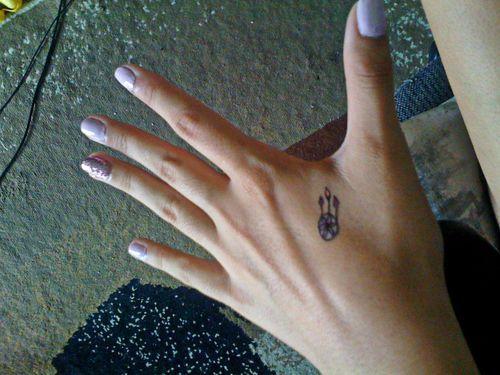 dream catcher tattoo on hand tattoos pinterest dream catchers