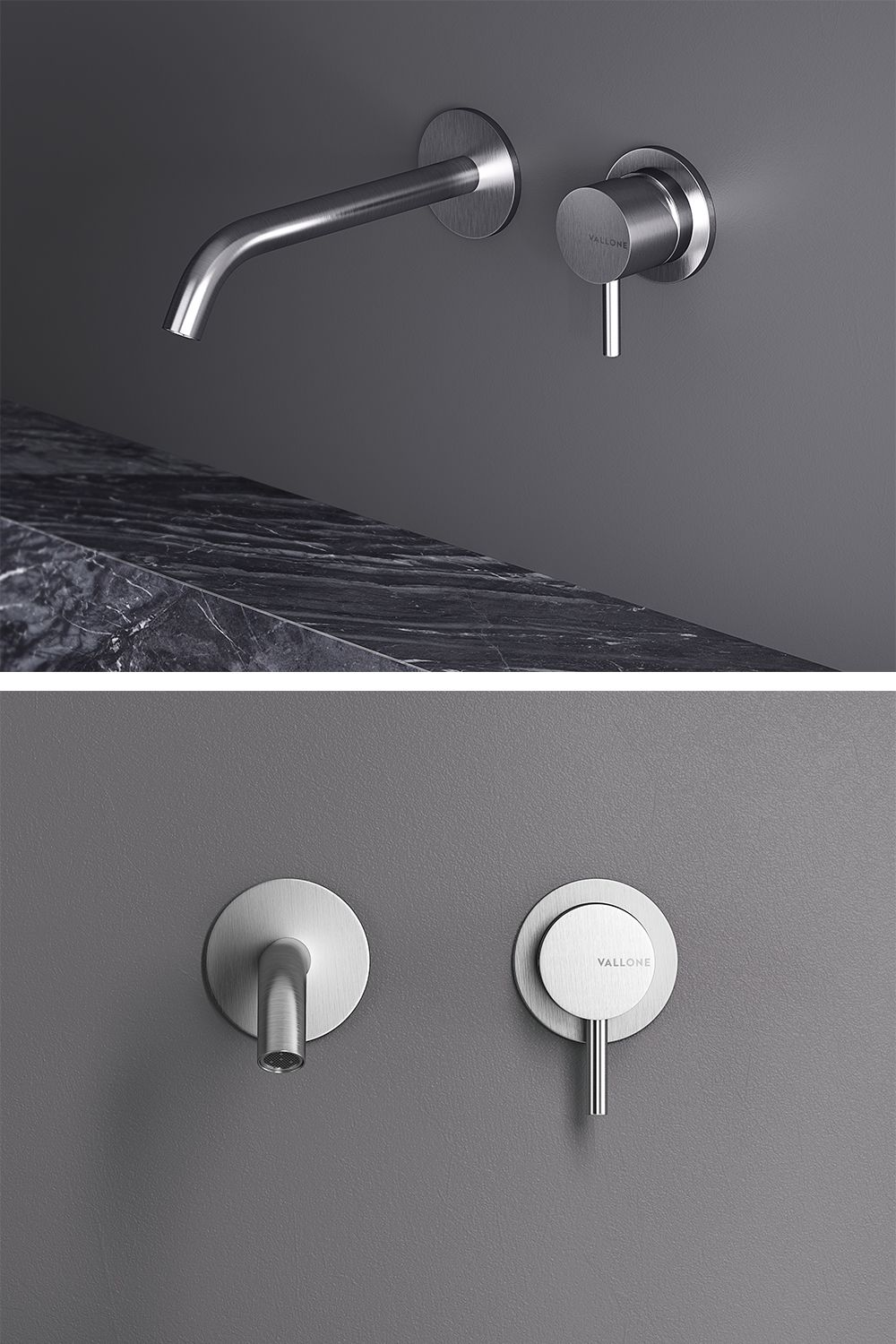 Como By Vallone Design Taps Made Of High Quality Stainless Steel Tap Collection Handmade In Italy Www Vallone De Bathroom Bathde Haus Bauen Badezimmer Haus