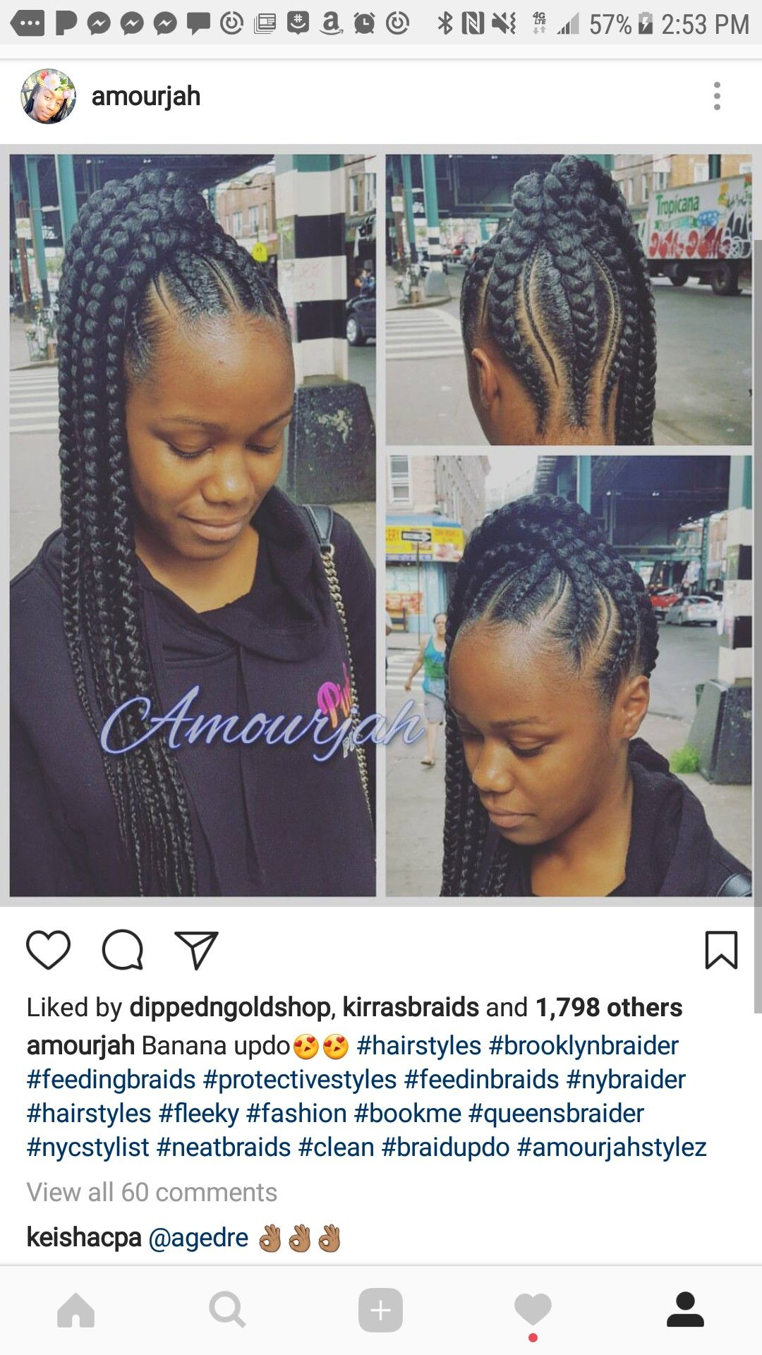 Pin by deborah johnson on hair pinterest african braids