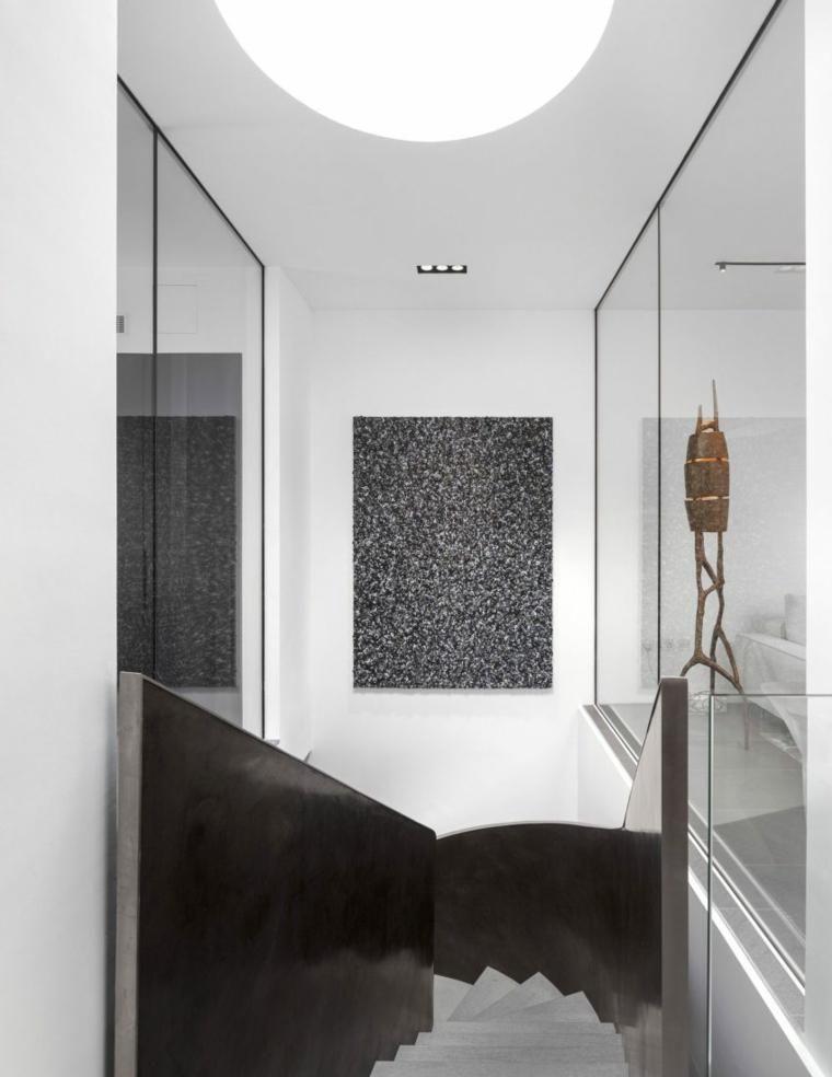 Gehäuse mit eleganten Details in Design und Beleuchtung Haus