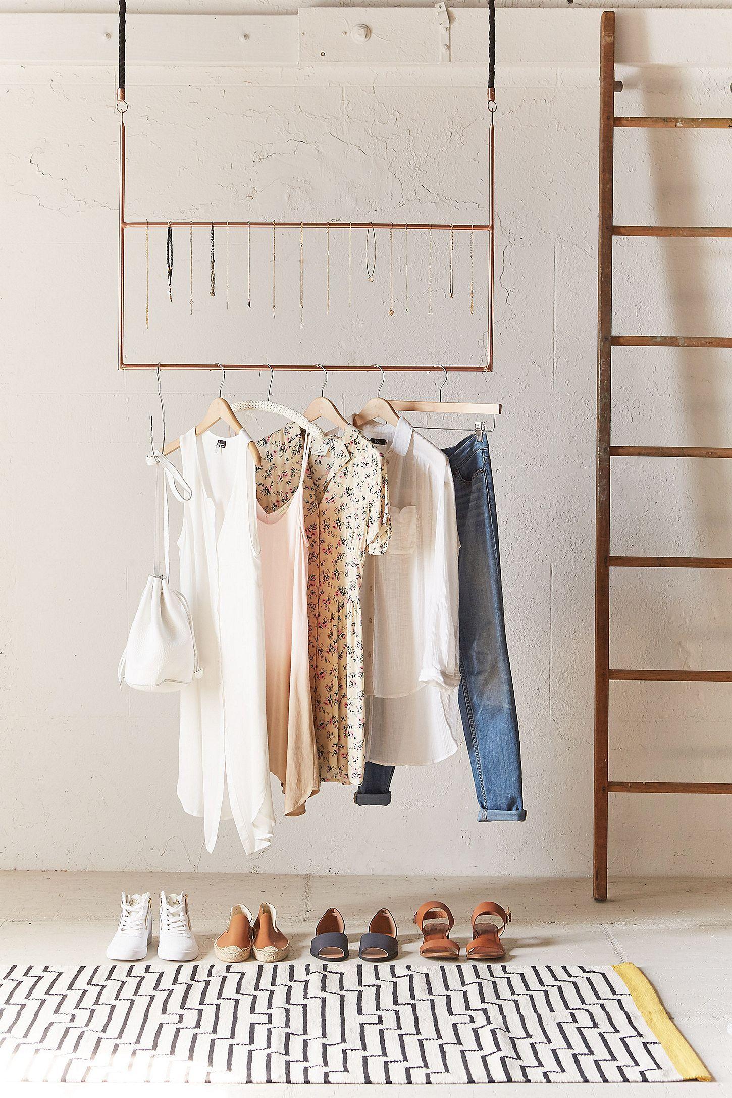 Ceiling Clothing Rack   Clothing rack
