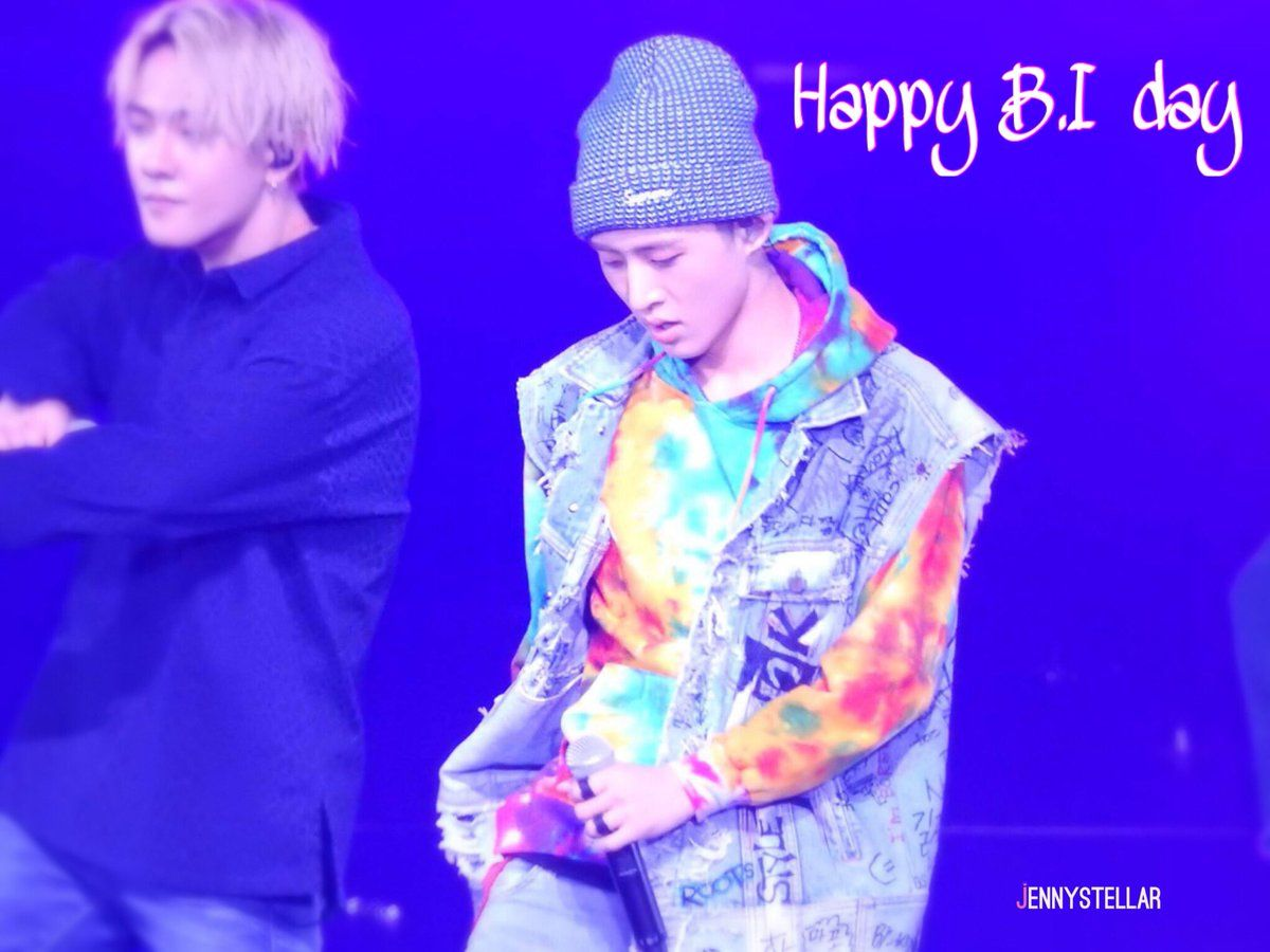 "Jenny940207 on Twitter: ""#BI #비아이 #CharismaBIday #iKON #아이콘 Thanks for being the great leader for iKON! Hapy birthday Hanbin ❤️❤️❤️🎉🎉🎉🌹🌹🌹 https://t.co/dZ5hvSmup7"""