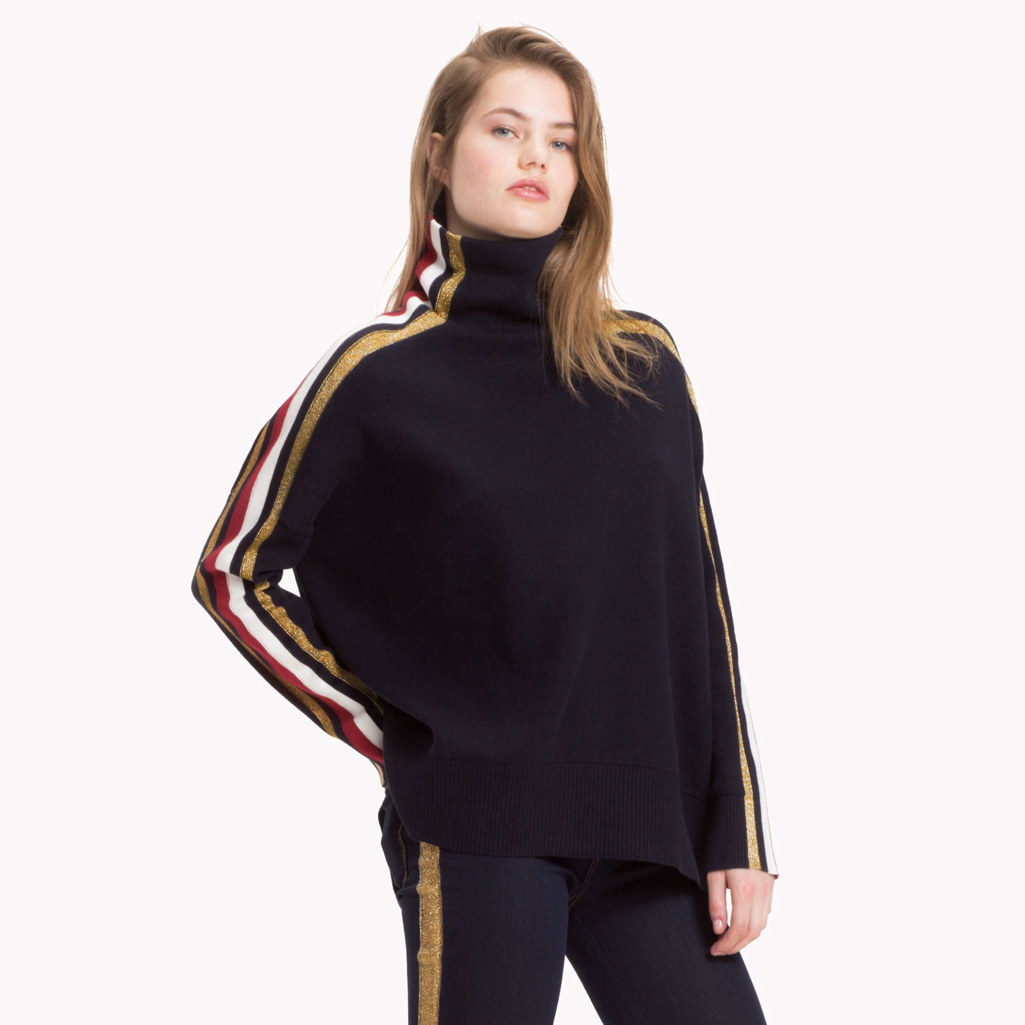 e8df6d894cd9 Tommy Icons Mock Neck Sweater by Tommy Hilfiger in 2018
