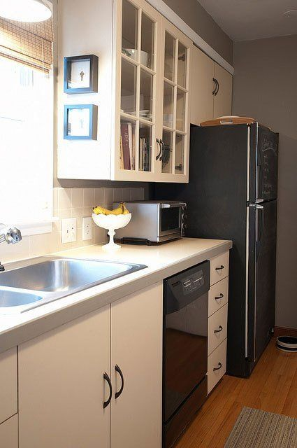 Bethany S Clean Classic Crisp Minneapolis Home Galley Style Kitchen Home Galley Kitchen Renovation