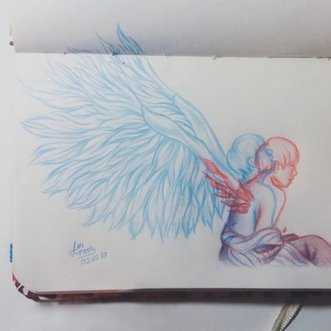 Image Result For Bts Blood Sweat And Tears Wings Drawing Wings