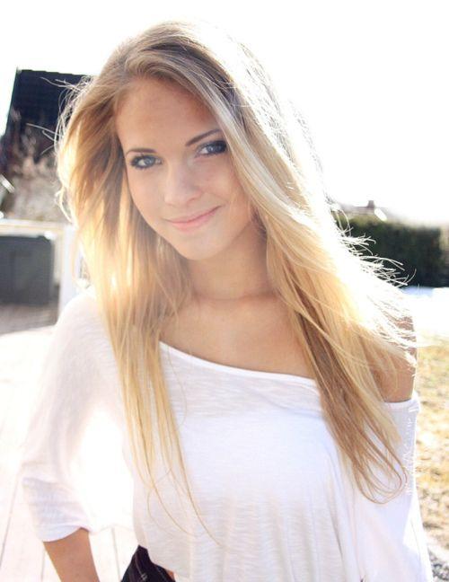 blonde for days   Hair ♡   Pinterest   Blondes, Natural blondes ...