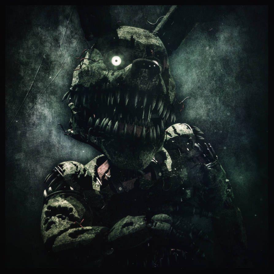 Nightmare Springtrap By Ragnadeon Fnaf Freddy S Nightmares Fnaf Art