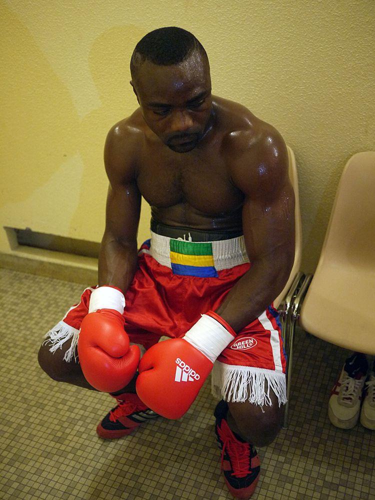 #Taylor #Mabika pro boxing bout after photo@SamuelBailhache.