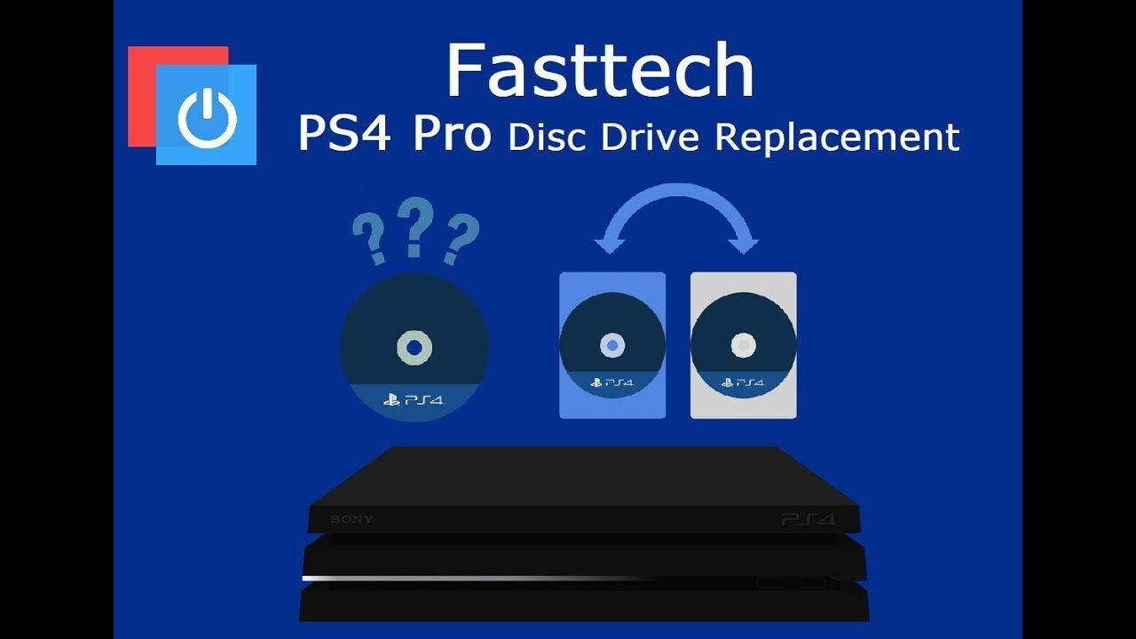 Ps4 Pro Disc Drive Replacement Fix Disc Reading Errors Not Playing Games Ps4 Pro Games To Play Disk Drive