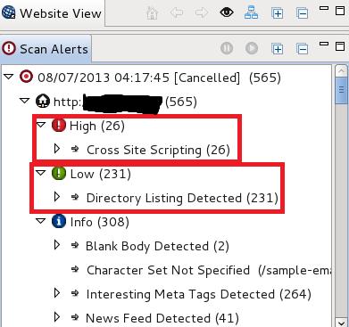 Scan website for vulnerabilities in Kali Linux | App/Web Development